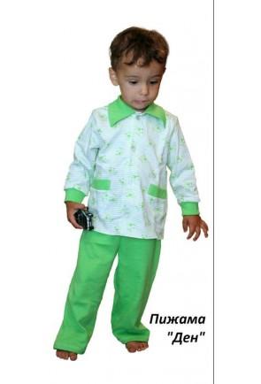 Детская пижама костюм универсальная Ден