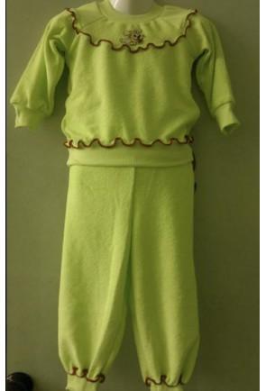 Махровая детская пижама Махра