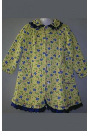 Детский стеганый халат для девочек