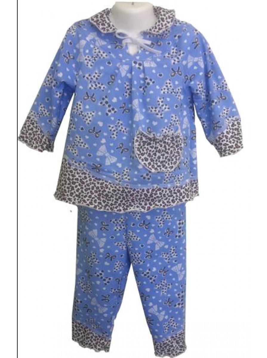 Детская трикотажная пижама Вика