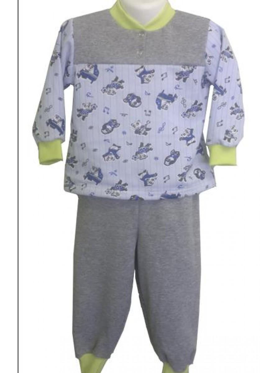 Трикотажная детская пижама для мальчиков Клепа