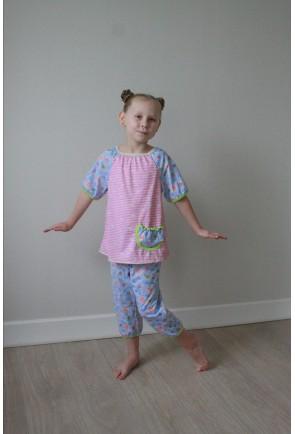 пижама с бриджами