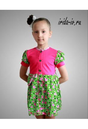Детский халат для девочек Виола