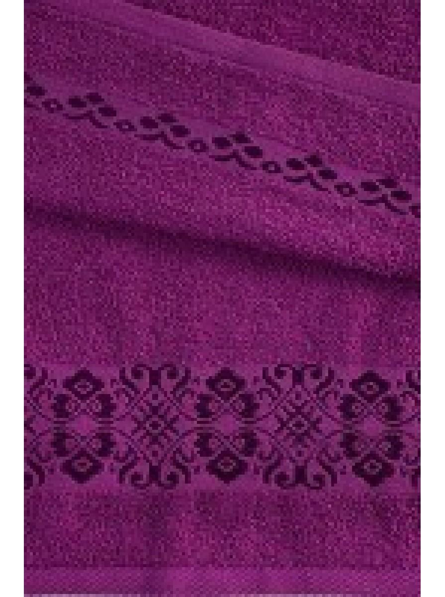 Фиолетовое полотенце