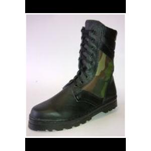 Ботинки юфть/кирза, высота 35 см