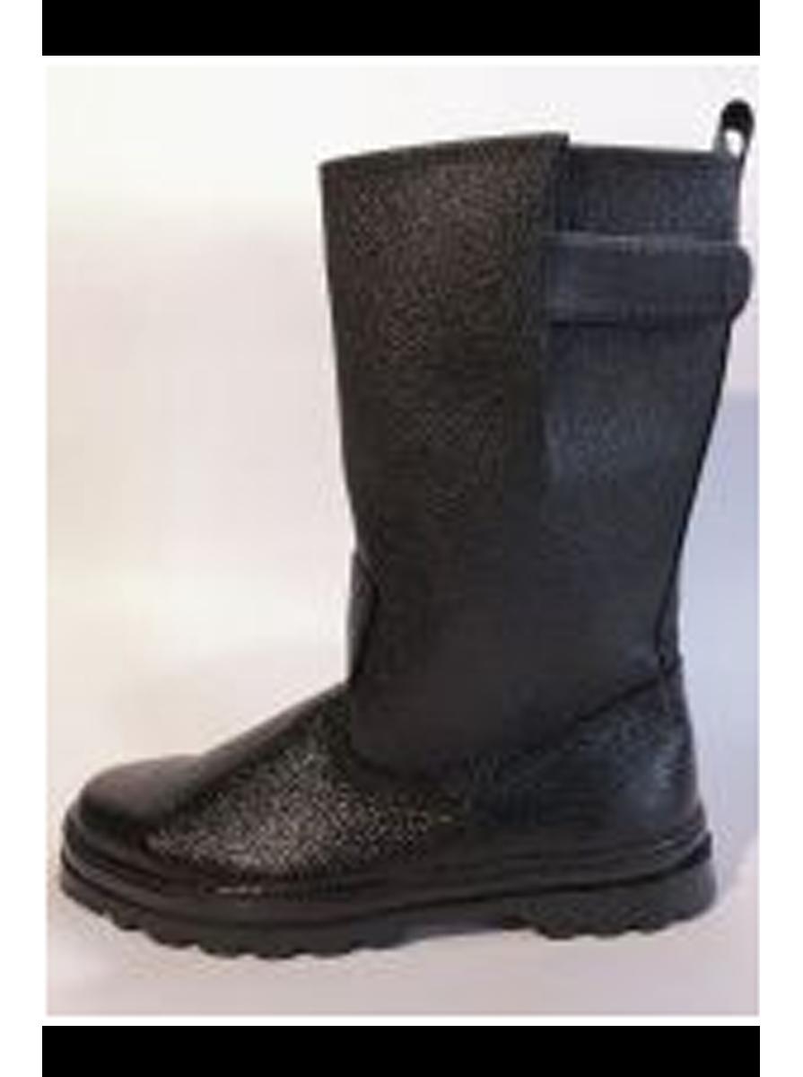 Сапоги юфть/кирза, регулируемое голенище, высота 31 см