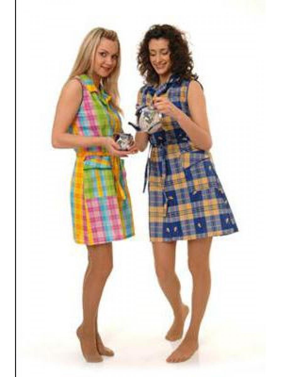 Домашний женский халат сафари