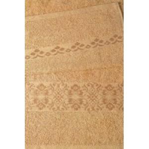 Коричневое полотенце