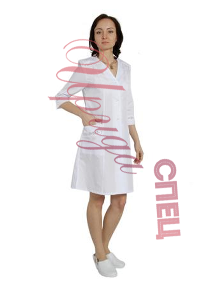 Халат медицинский женский арт.1