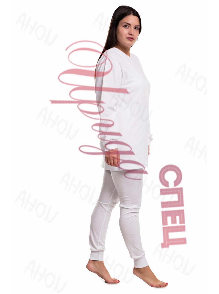 Нательное белье женское белое