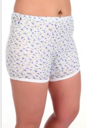 Трикотажные женские панталоны укороченные