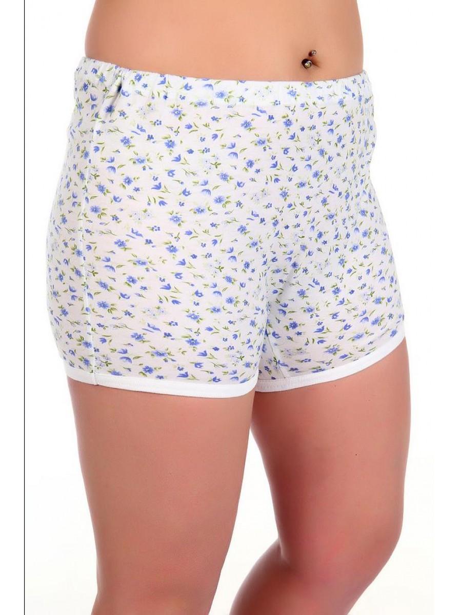 Женские панталоны трикотажные укороченные