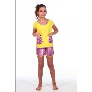 Трикотажная подростковая пижама