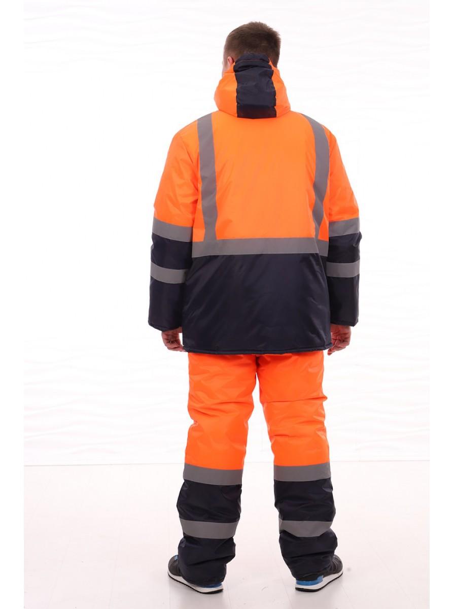 """Зимний утепленный костюм """"Дорожник"""" с брюками"""