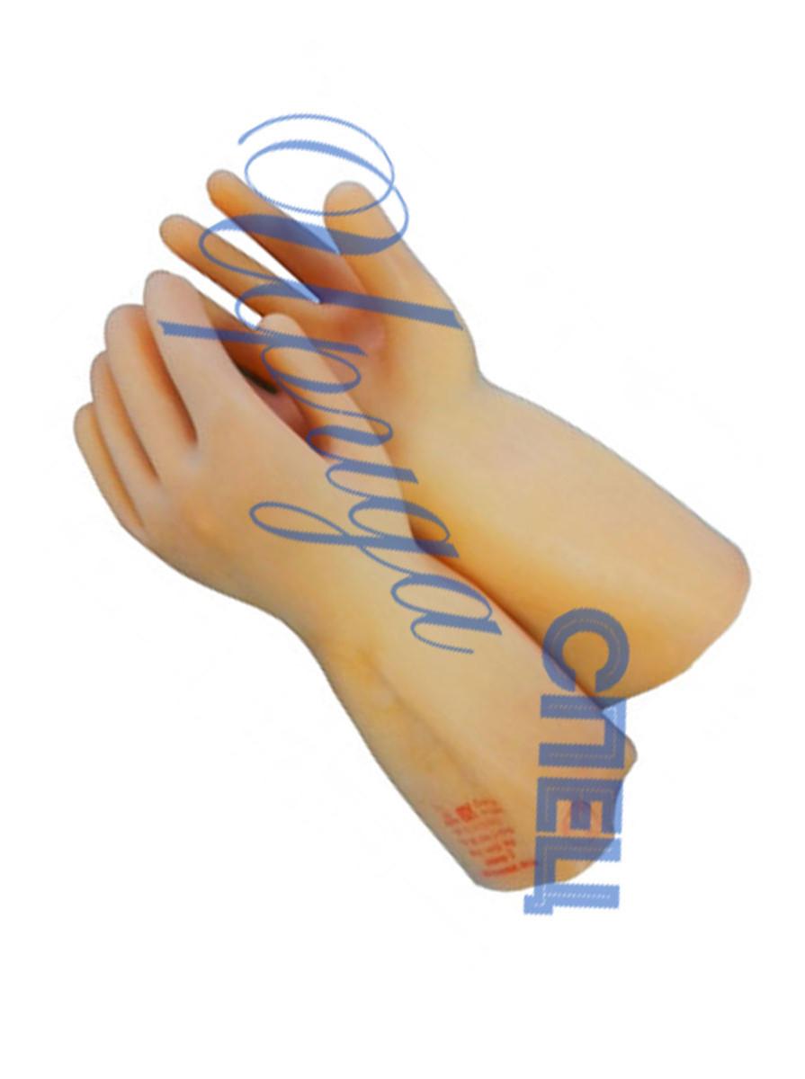 Перчатки диэлектрические бесшовные в пачке