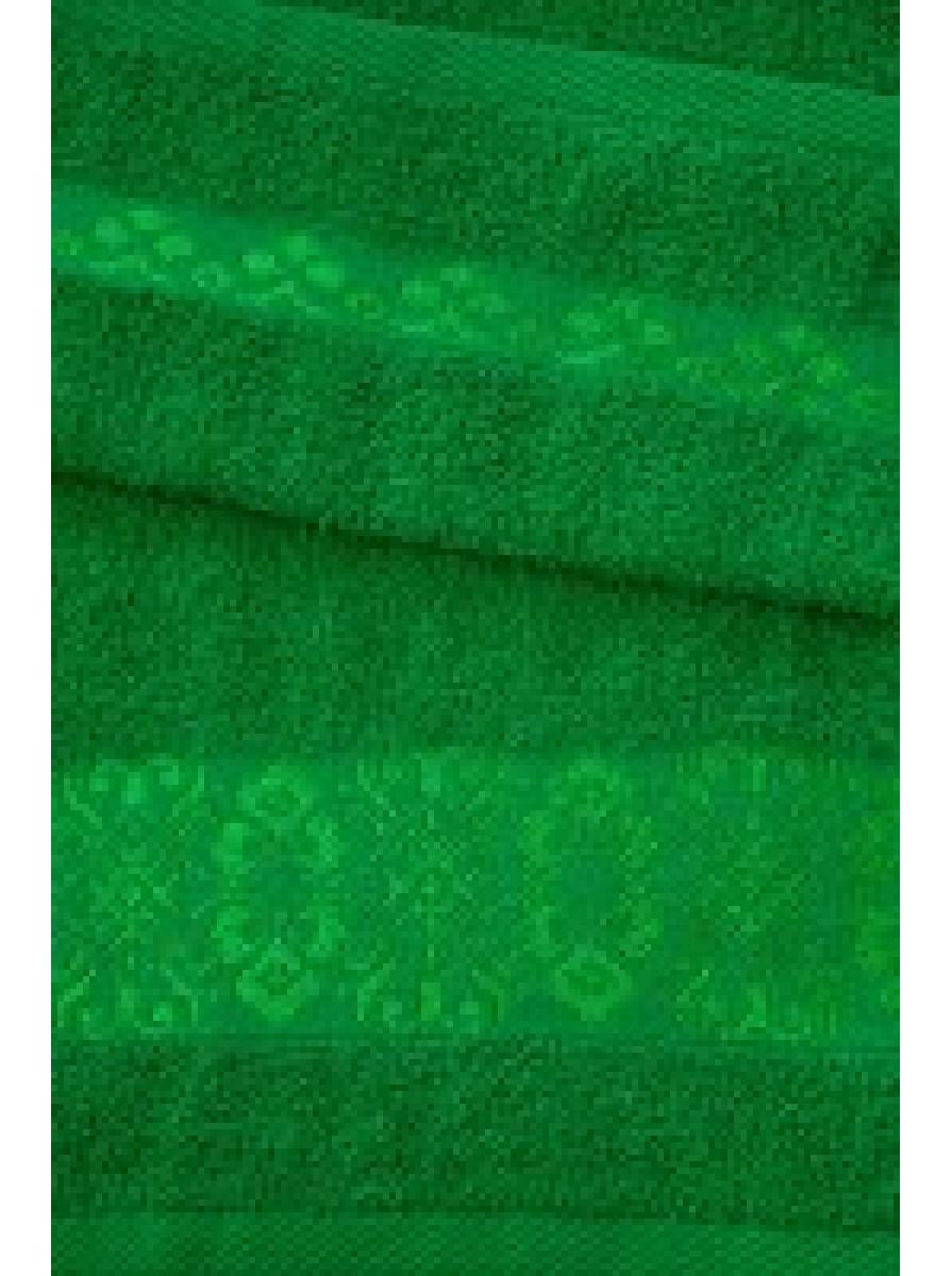 Зелёное полотенце