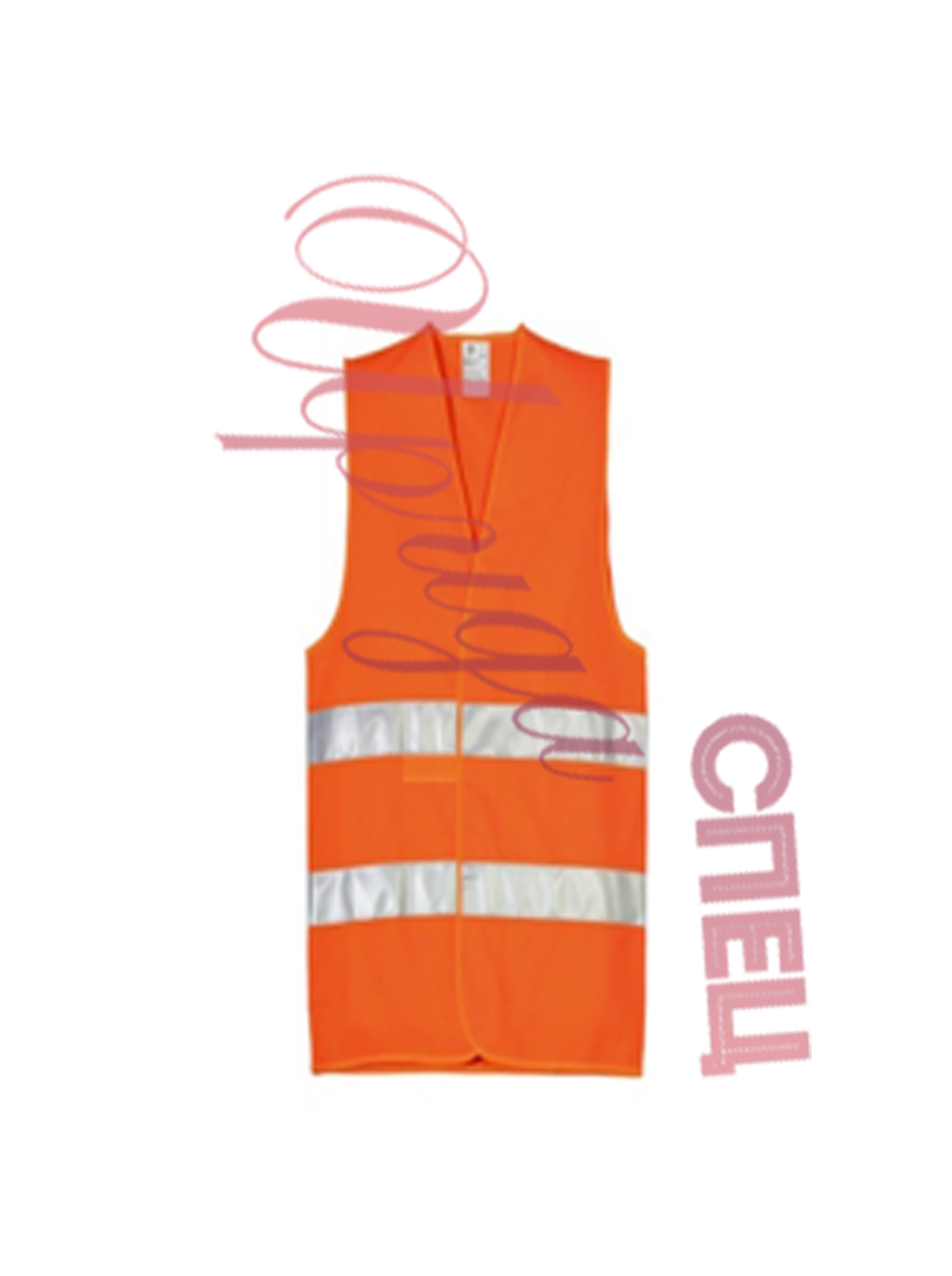 Оранжевый сигнальный жилет