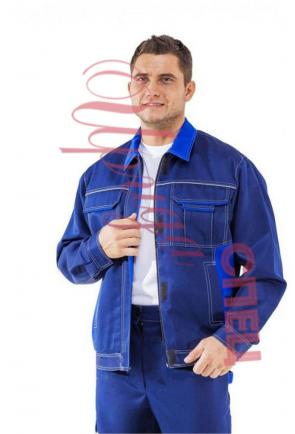 "Летний костюм рабочий ""Спейс спец"" муж. (синий) с брюками"