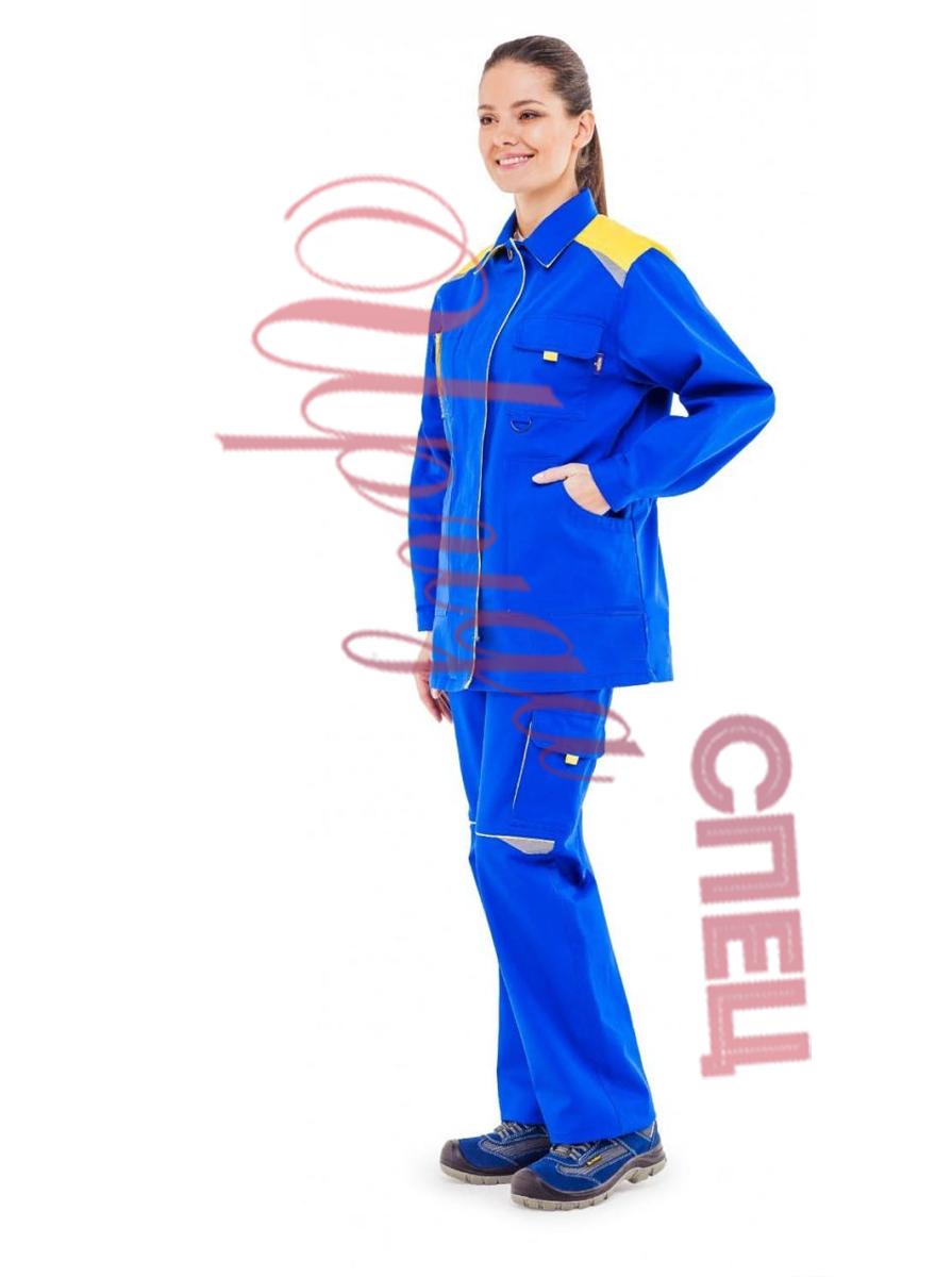 """Летний костюм рабочий """"Алтай"""" хб (синий) с брюками"""