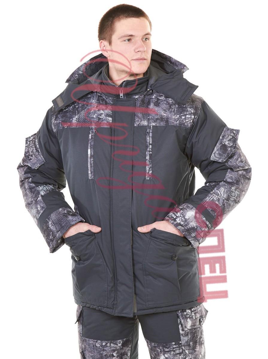 Костюм горка -зима серый
